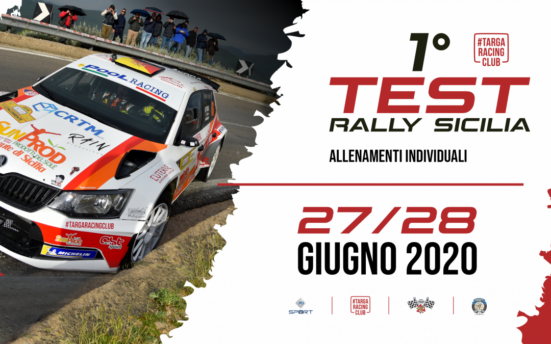 I Test Rally Siciliani di fine Giugno in Calendario ACI Sport